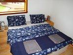 Bedroom 1 - can be super king or twin - with en-suite bathroom