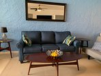 Brand new furniture.  Comfortable queen size pull-out couch/bed