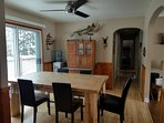 Big solid wood Kitchen table