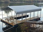 Large 30 x 20 floating boat dock