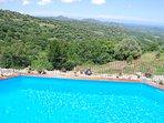 piscine et vue panoramique