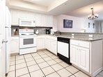Kitchen -  Gulf Dunes 408 Fort Walton Beach Okaloosa Island Vacation Rentals
