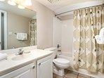 Guest Bathroom -  Gulf Dunes 408 Fort Walton Beach Okaloosa Island Vacation Rentals