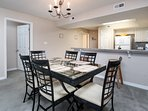 Dining Area -  Gulf Dunes 408 Fort Walton Beach Okaloosa Island Vacation Rentals