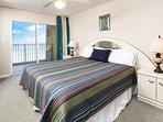 Master Bedroom -  Gulf Dunes 408 Fort Walton Beach Okaloosa Island Vacation Rentals