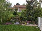 Des espaces verts spacieux... et fleuris
