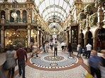 Leeds shopping Arcades
