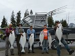 Covered Fish Cleaning Station at Whiskey Point Cabins & RV Park, 20 mins to Homer, AK