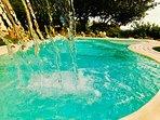 piccola piscina idromassaggio privata