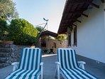 deck chairs (courtyard)