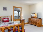 Terrace bedroom with two twin beds and two trundle beds and smart HDTV with Netflix/Hulu streaming s
