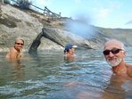 Hot Potting in the Boiling River, YNP.