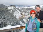 There are several backcountry x-country ski options in YNP.