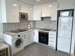 Zona de Cocina, lavadora