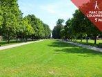 Le verdoyant Parc de la Colombière à 5min