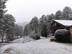 El Chalet en la montaña nevada