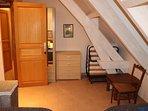 Etage - chambre n°4 - avec ses lits d'appoint