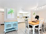 Gather your family around and enjoy a meal in the open concept dining area