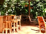Casa Uvita's Early Bird Café, open from 6-10 am and private dinners