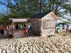 Conch Shack on Stocking Island at the Chat & Chill