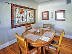 Enjoy home-cooked cuisine in the dining area.