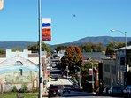 Main Street Luray - shopping, dining, wine bars, brewery, theatre.