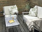 Chill out on our roof terrace...