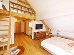Chambre Duplex Blegny - Maison d'hôtes & SPA La Scierie