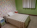 Otra vista tercera habitación con cama individual de 1,05 cm.