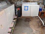 Shared Basement Laundry Machines