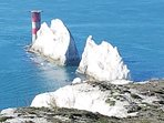 Walk up to see The Needles