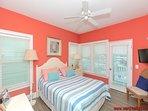 1st Floor Street-Side Bedroom with Queen Bed