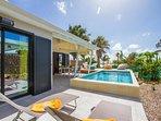 Iguane house villas & micro spa villa Passion piscine