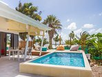 Iguane house villas & micro spa villa Passion piscine