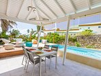 Iguane house villas & micro spa villa Passion terrasses