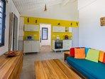 Iguane house villas & micro spa villa Passion cuisine-salon