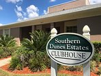Southern Dunes Estates Clubhouse has a modest Gym, Library and Swimming Pool