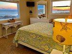Watch the sunset from the bedroom!