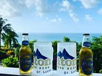 The local beer is simply delicious. It's named after St Lucia's two iconic mountains (Pitons)