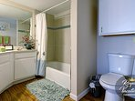 Ensuite Master Bathroom - Shower and tub combination