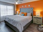 Master Bedroom - ♛King Size Bed♛ with reading lamps