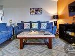 Living room - Queen size sofa sleeper