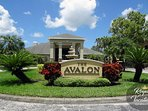 Avalon Entrance -Gated community, Caribbean style resort, minutes from the beach