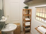 Badkamer Huisje Vogelenzang Zeeland