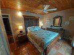 Beachfront bedroom with queen bed