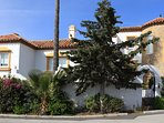 A spectacular detached villa with views, parking and private pool.
