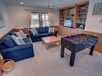Mid-Level Rec Room with Foosball Table