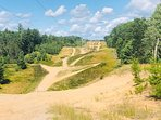 Rasho Road Trail Head for Snowmobiles or off road ATV & Side by Sides