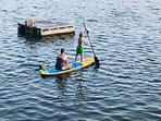 On-site Stand Up paddle board rentals