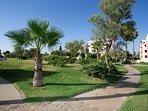 Más de 12.000 m² de jardines